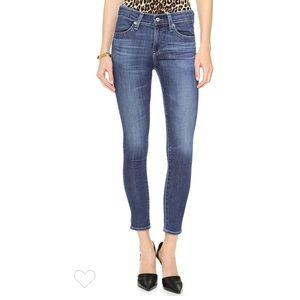 AG The Farrah High Rise Skinny Crop Jeans